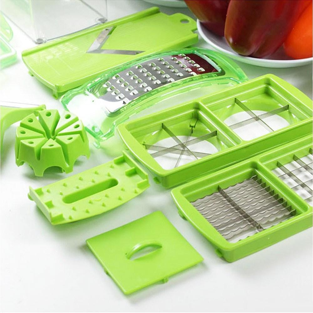 스텔라룸 만능 채썰기 야채 절단기 슬라이서기계 1세트 + 4세트, 단일