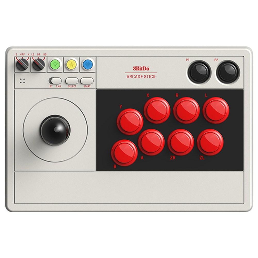 8BITDO 아케이드 스틱 V3 Arcade Stick 일반버전 / 블루투스 연결 / 닌텐도스위치 호환 / 8버튼 뷰릭스