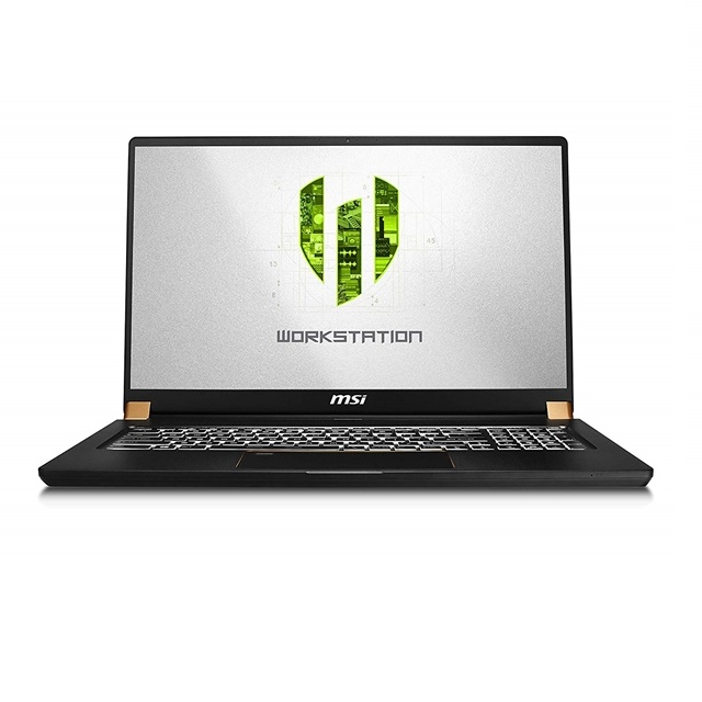 MSI WS75 9TL-497 17.3 Thin and Light Mobile Workstation Intel Core i7-9750H NVIDIA Quadro RTX 4000, 단일색상