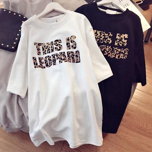 [여성패션] 리더스타 여성티셔츠 블랙+화이트 2장 박시핏 반팔 티셔츠 - 랭킹100위 (19800원)