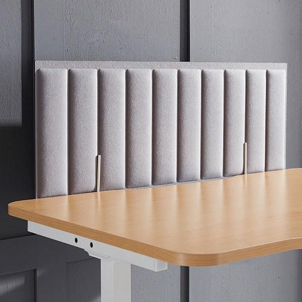 인터데코 책상 위 흡음파티션 PM402, 고정형M308