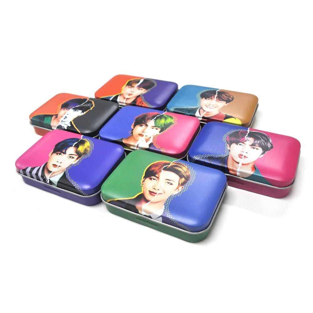 BTS 방탄굿즈 포토카드 렌즈케이스, 1개, 지민