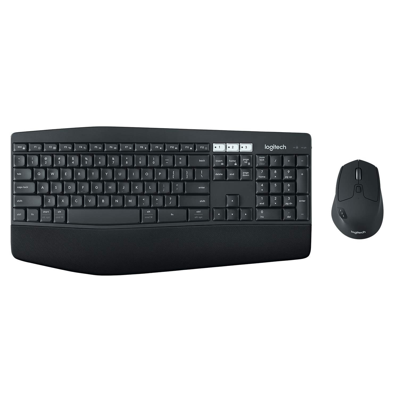 로지텍 MK850 키보드 마우스 무선콤보, 블랙+젤클리너