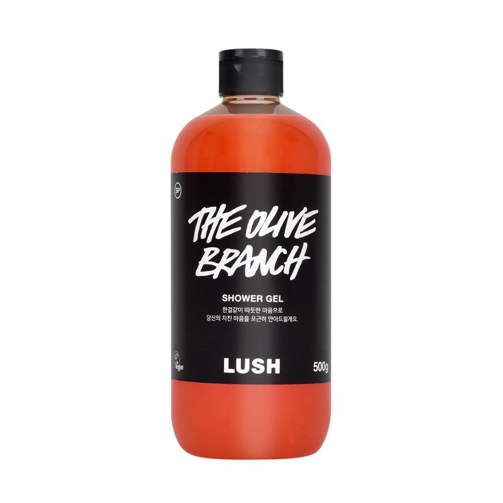[러쉬][공식] 더 올리브 브랜치 500g-샤워 젤 (바디 워시), 1개