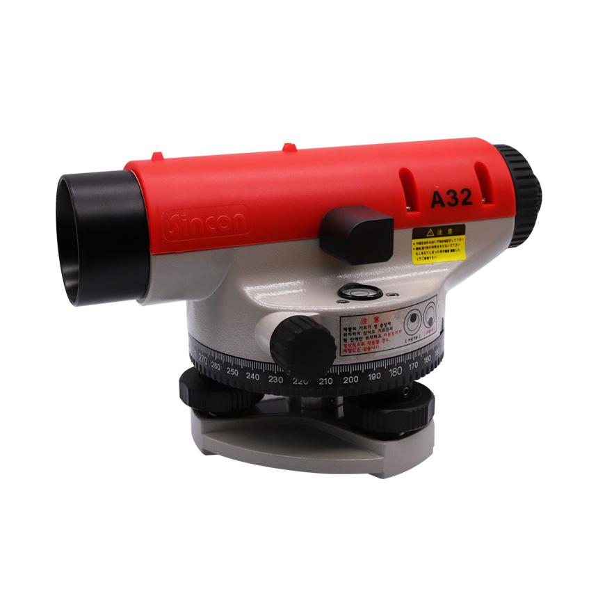 신콘 측량 오토레벨기 A32 32배율 (자동레벨기) 신콘레벨기/자동레이저레벨기/측량기기/측량기계/자동레벨기/오토레벨기/측정기/라인레이저, 단일 수량