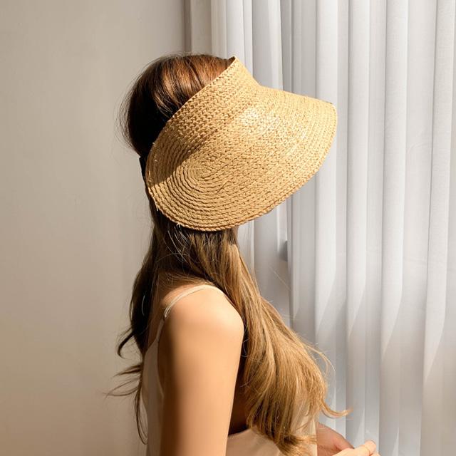 라탄 대챙 썬캡 모자 (POP 1703888580)