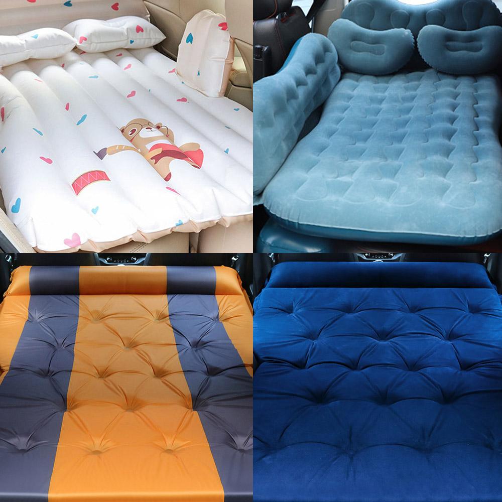포원 현대 팰리세이드 싼타페TM GV80 올뉴투싼 트래버스 SUV 트렁크 차박 캠핑 침대 매트 매트리스, 01- 인플레이션 에어매트/블랙, 쌍용 자동차 SUV에어매트