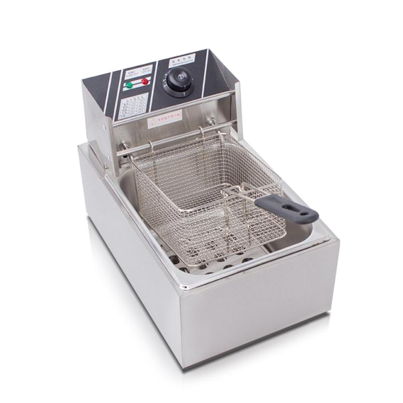 가정용 튀김기 대용량 미니 업소용 전기튀김기 6L