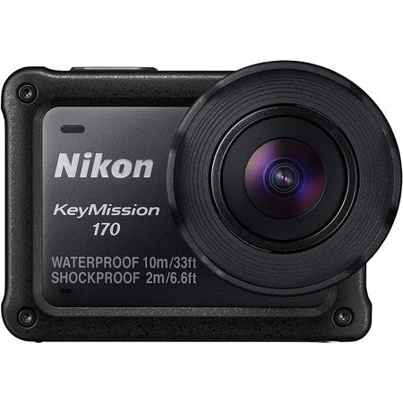 일본정품 2. Nikon 방수 액션 카메라 Key Mission 170 BK 블랙 B01LYJVL75, One Size_One Color, 상세 설명 참조0, 상세 설명 참조0