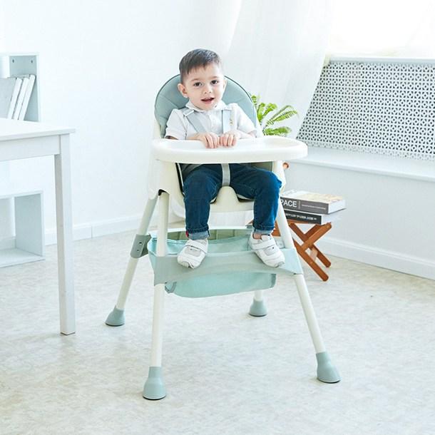 MOLY 유아동 다기능 휴대용 식탁의자 아기의자 J1515 유아식탁의자, 60*94cm