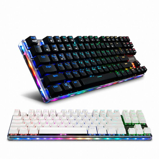 도매빅뱅 기계식 키보드 MKL16S BOSSMONSTER TFG 블랙 골드청축 게이밍키보드/기계식키보드청축/기계식키보드적축/무접점키보드/기계식키보드갈축/유선키보드/로지텍키보드/블루투스키보드/한성키보드/led키보드, 단일 색상, 단일 모델명/품번