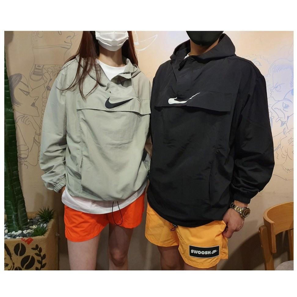 부산 원앤원 [남녀공용] 오버핏 포켓 아노락