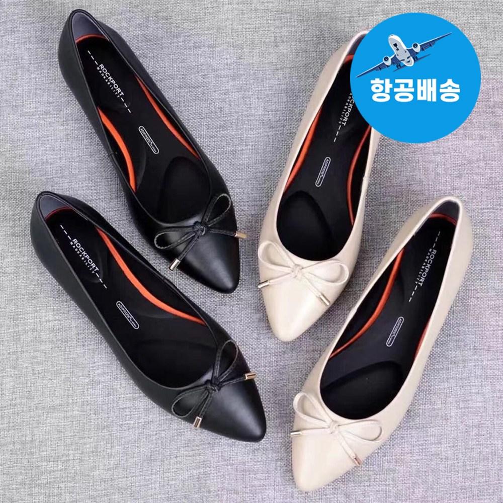 락포트 여성 뮬 블로퍼 리본 신발