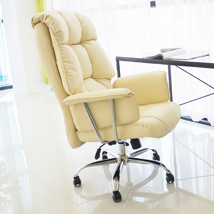 일루일루 PC방 BJ 게이밍 타이탄 의자 모음 학생의자/사무용의자, 그랜드 타이탄 로얄체어 아이보리