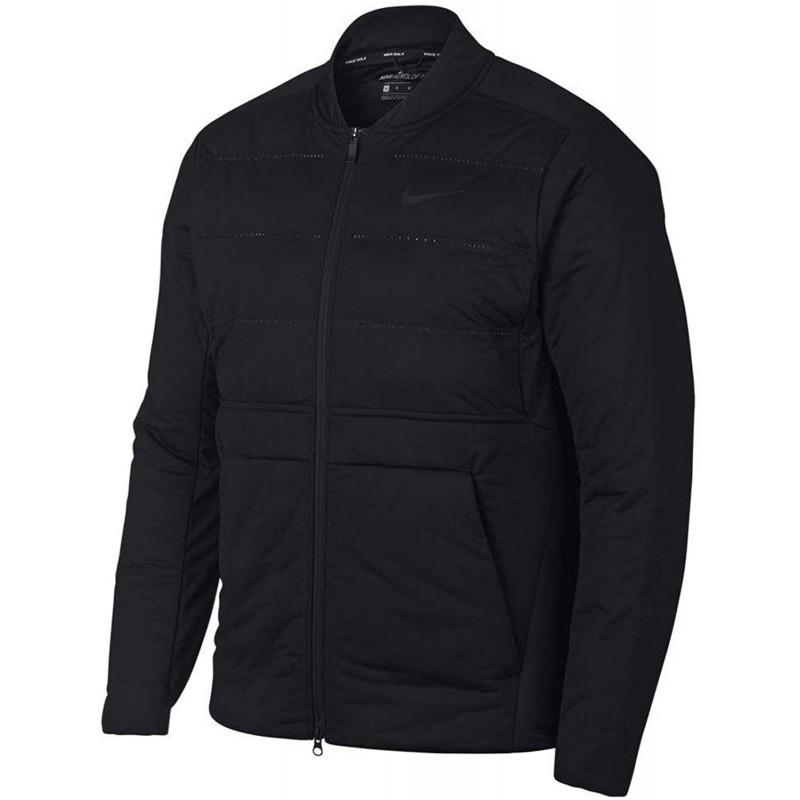 남성 상의 USA Large사이즈(사이즈 표기는 미국내수용 기준) 나이키 에어로 로프트 골프 재킷 2019 블랙