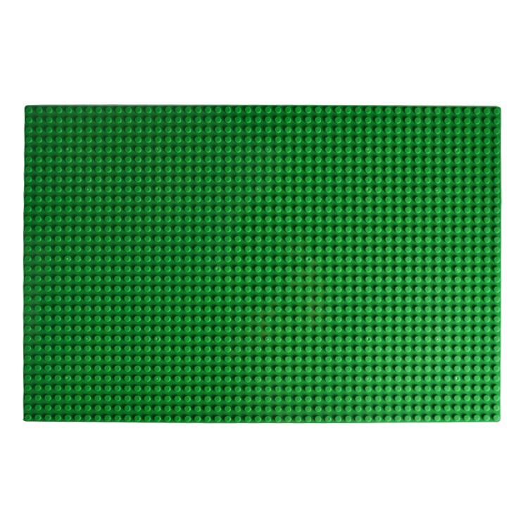 토이다락방 레고판 레고 호환 대형 놀이판 레고호환블록, 레고놀이판(25.5x38.5cm) - 초록