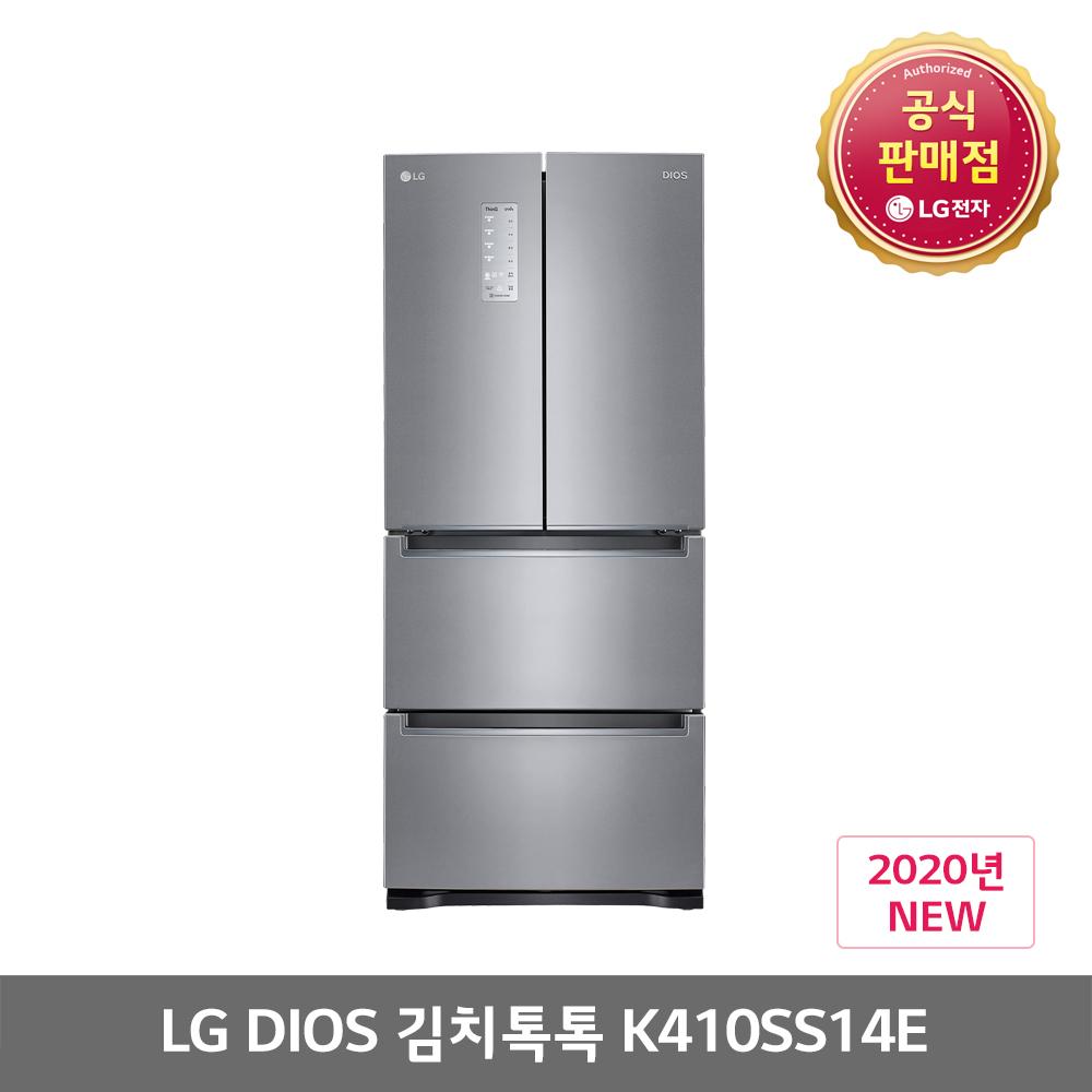 LG디오스 K410SS14E 스탠드형 402L 김치냉장고 전국무료