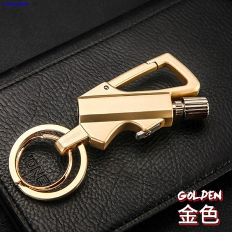 키홀더 3in1국다용도 만번 성냥 열쇠고리 남성허리 라이터 자동차 열쇠걸기
