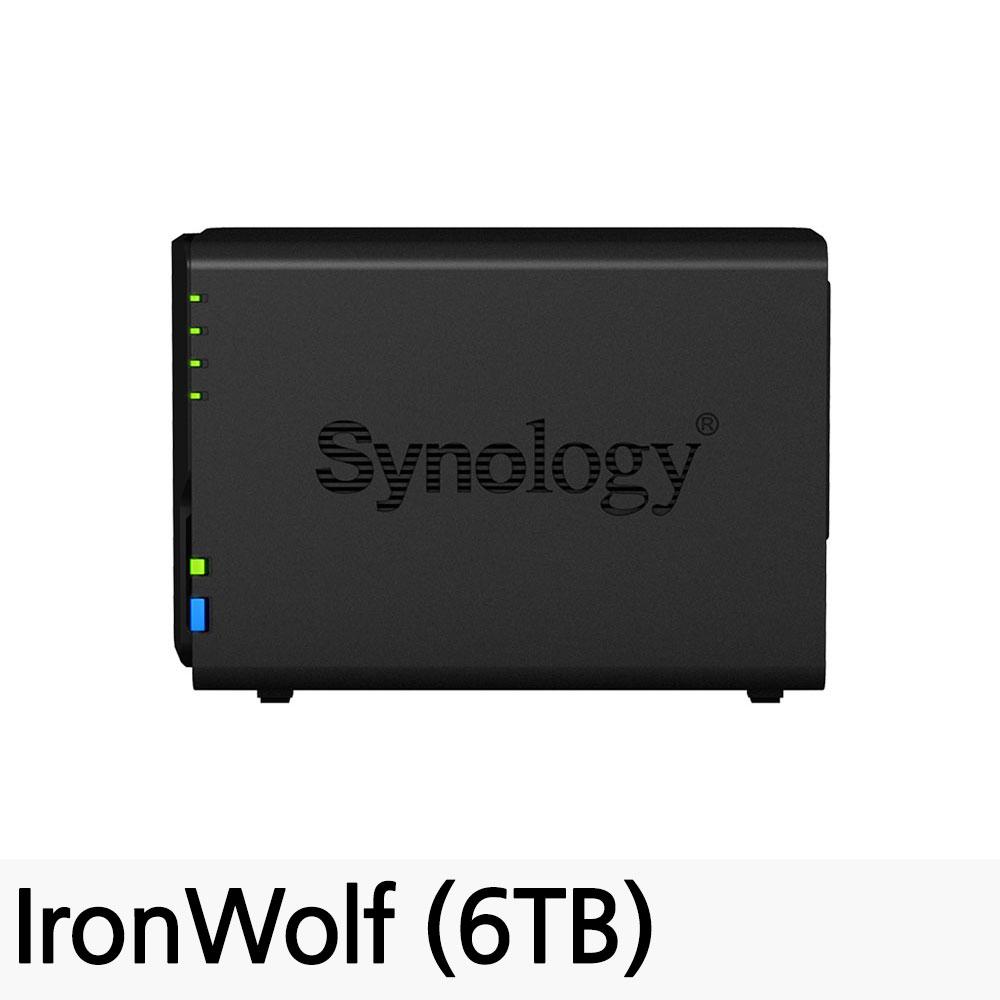 시놀로지 DiskStation NAS DS218, DS218 (6TB)