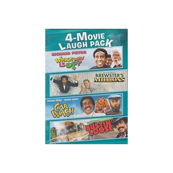 365336 Richard Pryor 4-Movie Laugh Pack: Which Way is Up / Brewster's Mill [DVD] NEW!