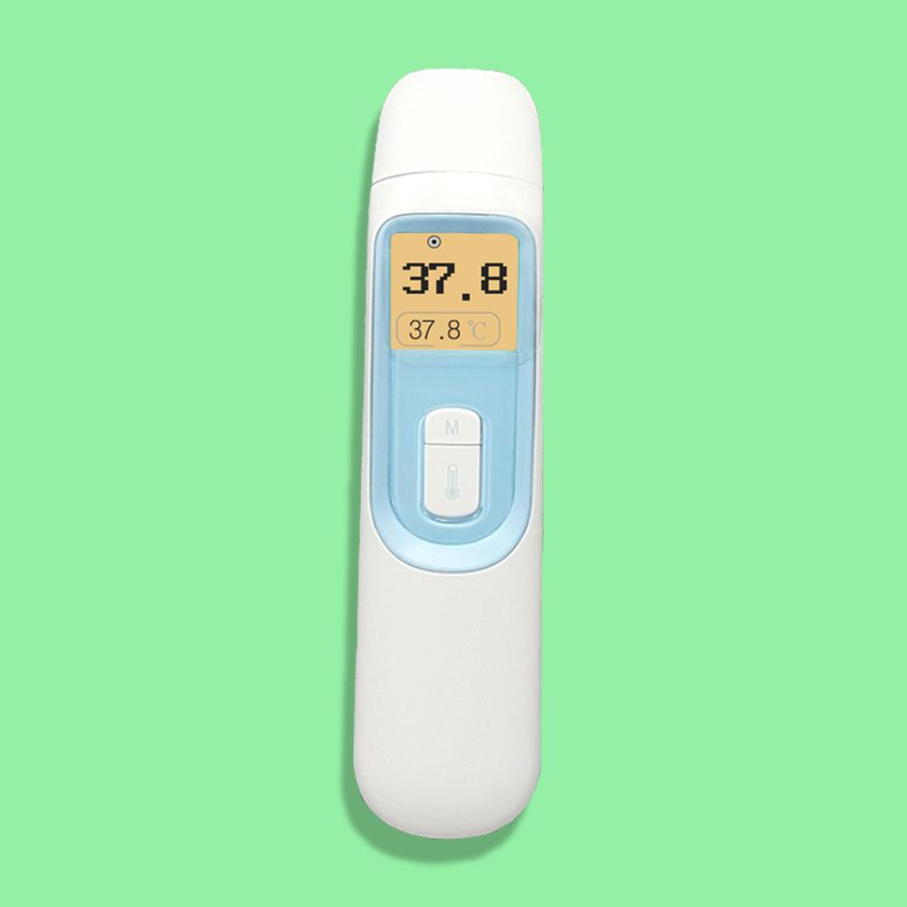 KFDA 정밀 피부적외선체온계 국산비접촉 체온계 [4단 알림표시] 씨엠랩 신생아신생아 열 체크 귀적외선 온도 감지기 약국 손목 비대면 체온계, 1Ea