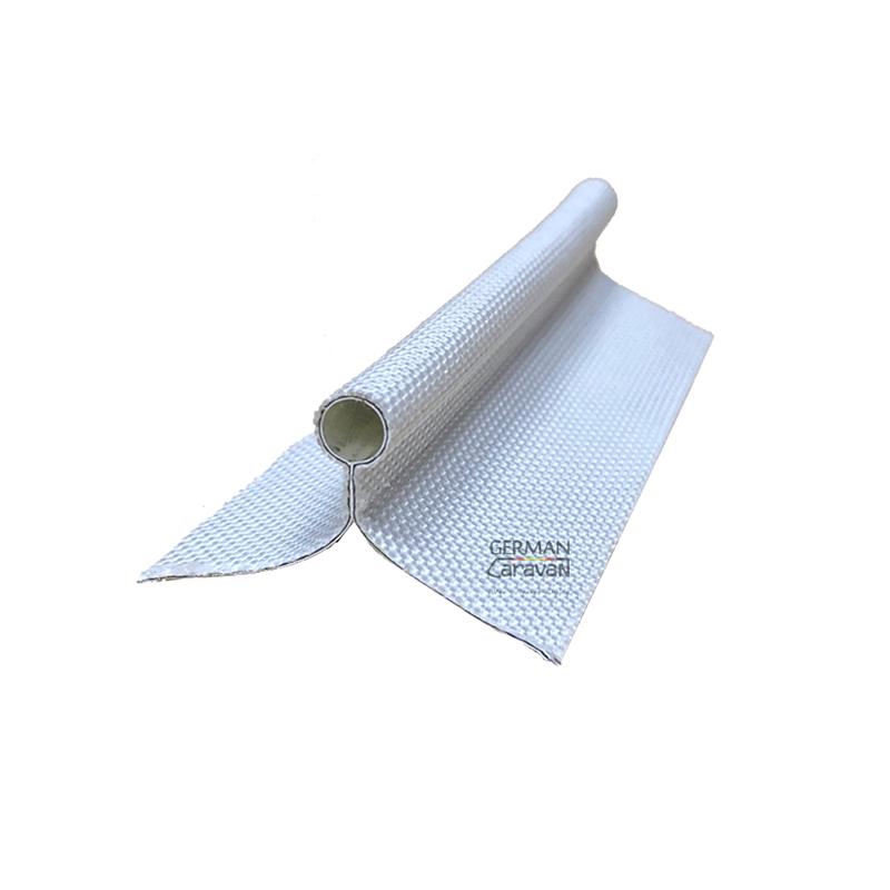 카라반 어닝심지 레일심지 7.5mm 더블 플랩(흰색 검정색), 흰색