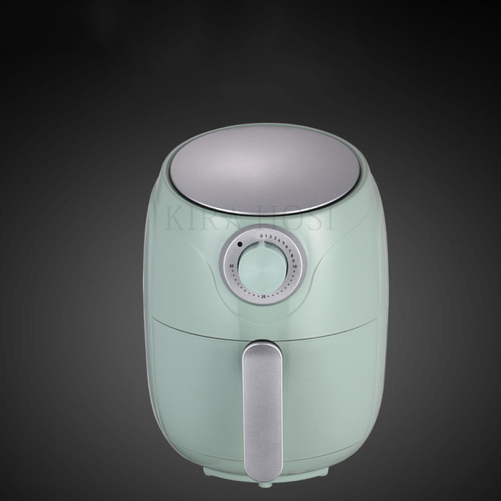 kirahosi 대용량 에어프라이어 오일프리 스페셜 가정용 전자동 전기 튀김기 84 HD +덧신 증정 BLi6l6s5, 그린