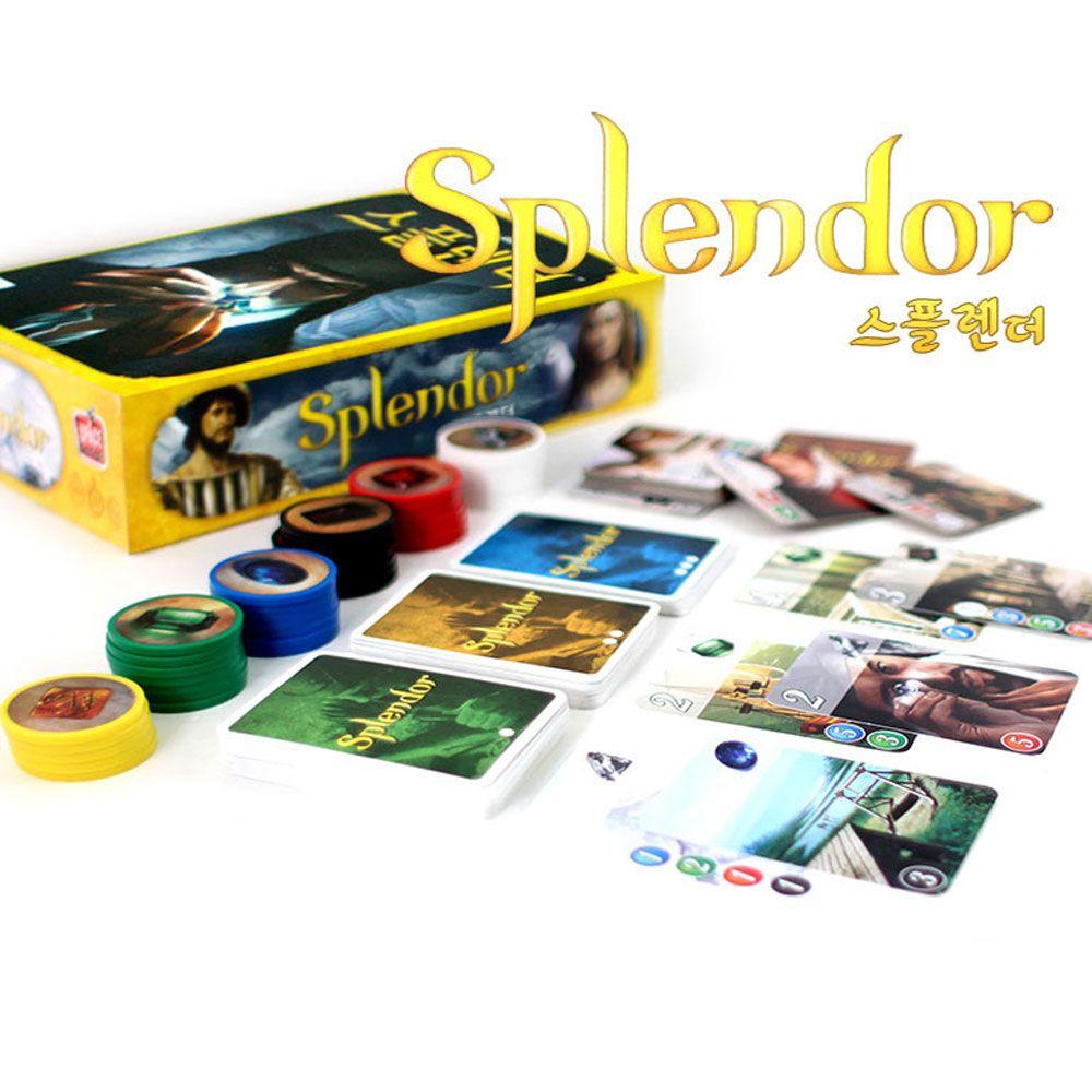 SSS+ 어린이 초등 학생 보드 게임 스플렌더 전략게임 *rX1vZ_유아보드게임 초등학생보드게임+심심샵