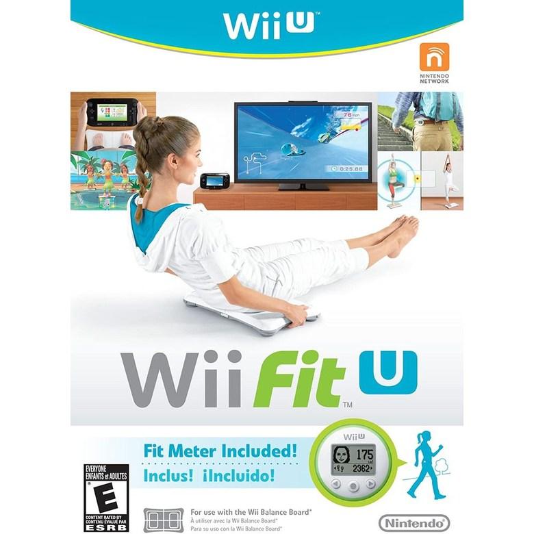 닌텐도 (미국정품 Wii U) 위 피트 유 위유 에디션 Fit U w/Fit Meter, 상세창조