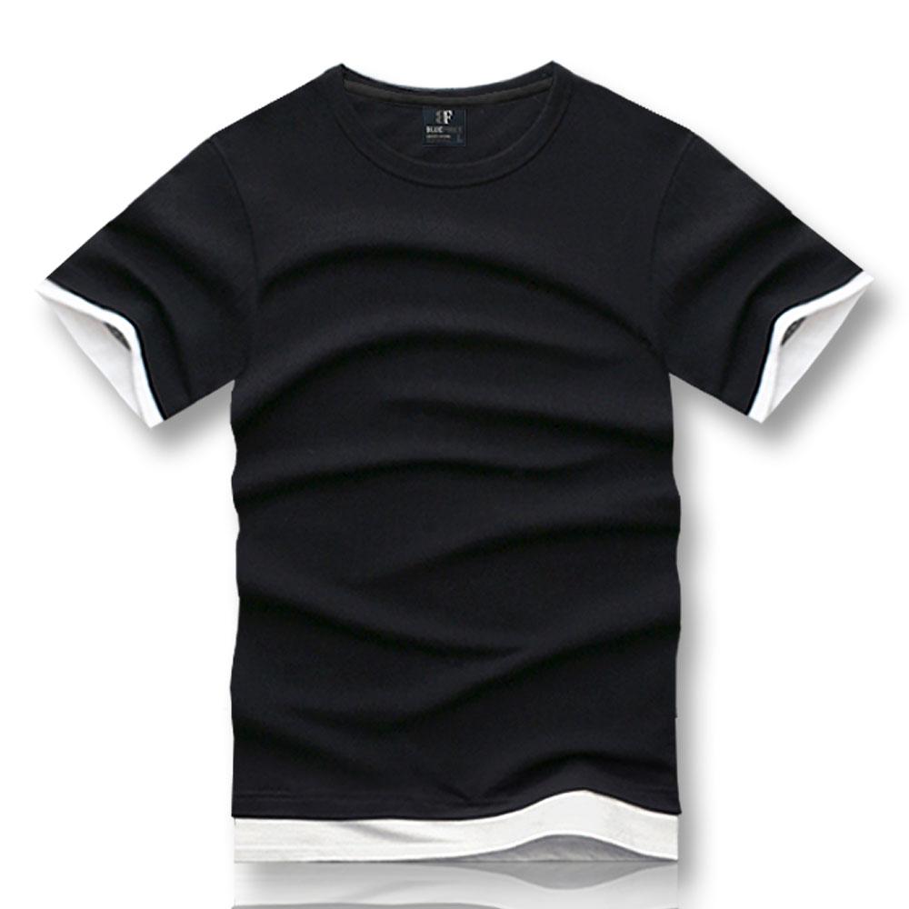 블루포스 남녀공용 레어티 반팔티 레이어드 무지 티셔츠 단체복 커플티