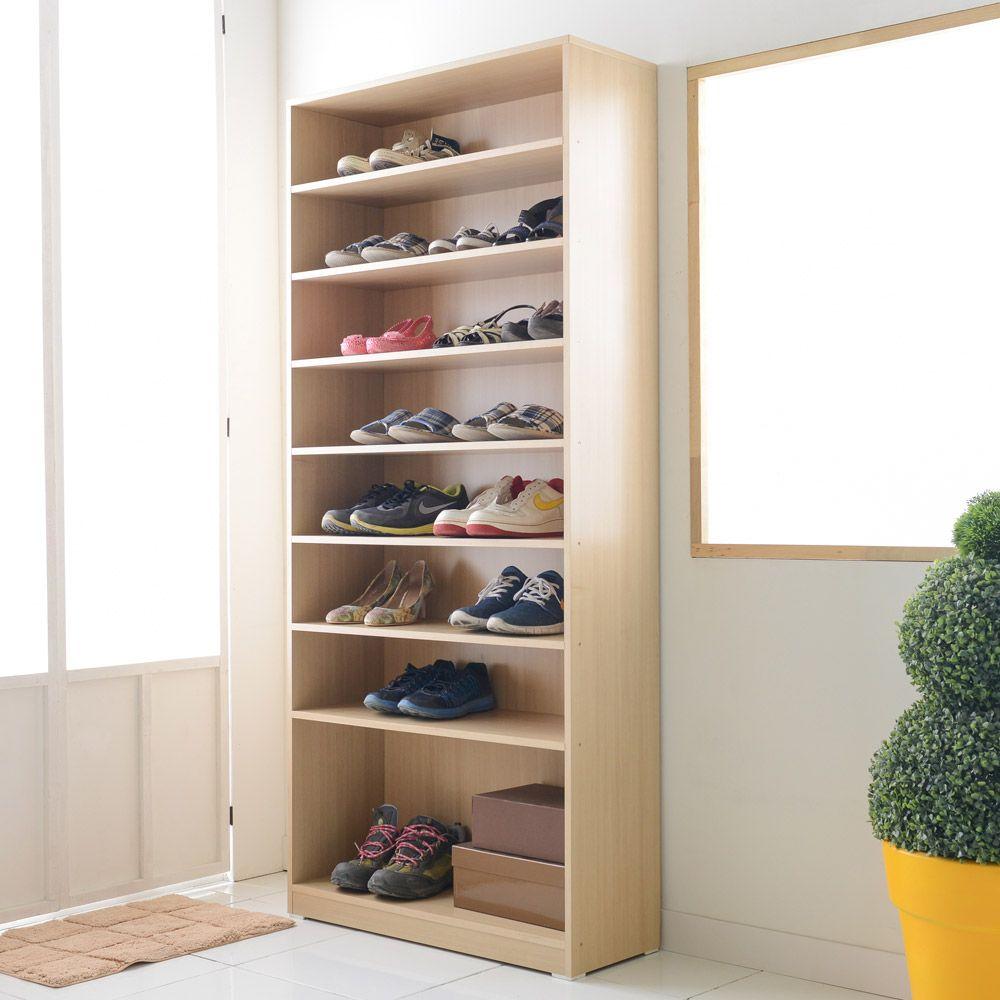 ksw81200 1800오픈형 신발장 신발정리함 신발정리대 수납장, 엘다