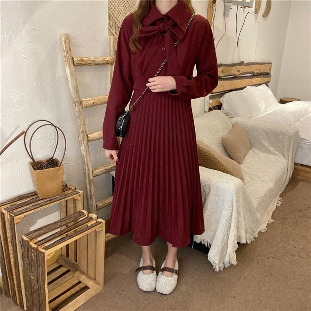브랜드 클래식 프랑스 레트로 드레스 복고풍 셔츠 원피스 경성의복 개화기의상