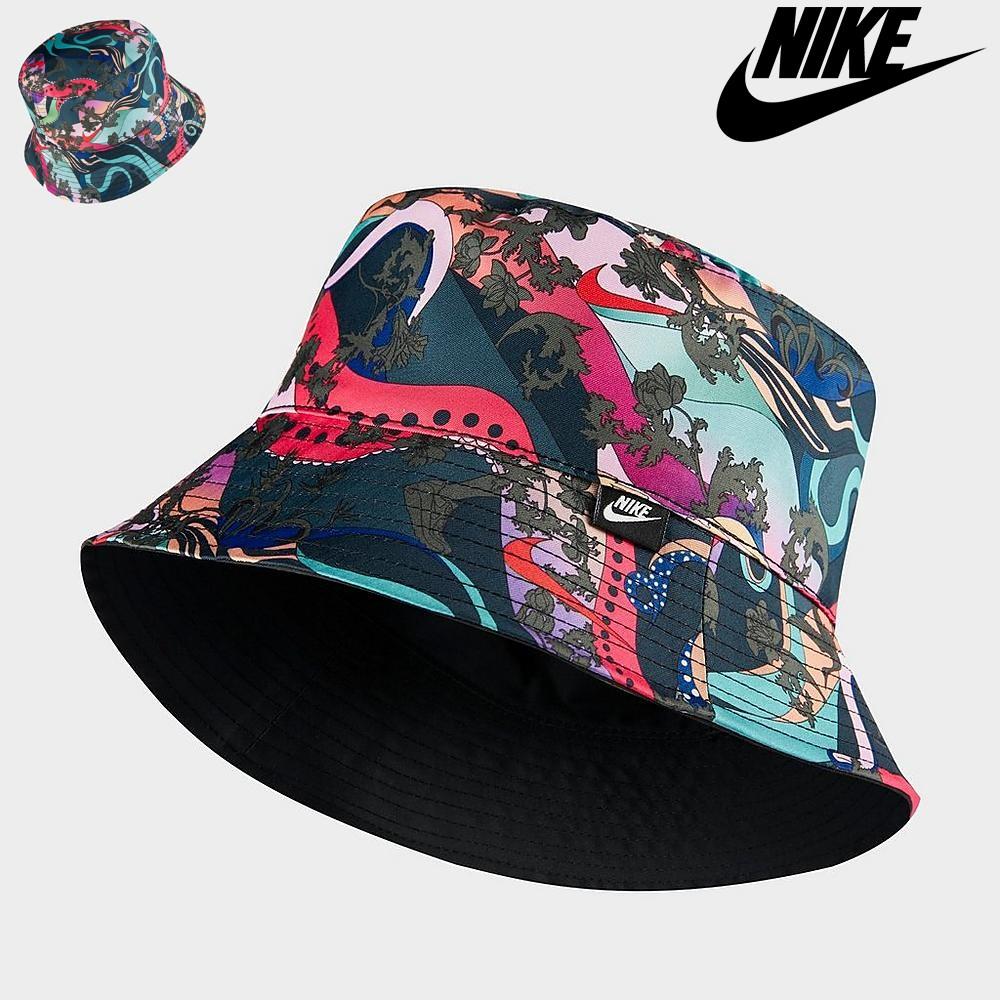 나이키 여성 아이콘 클래쉬 버킷 햇 양면 벙거지 모자