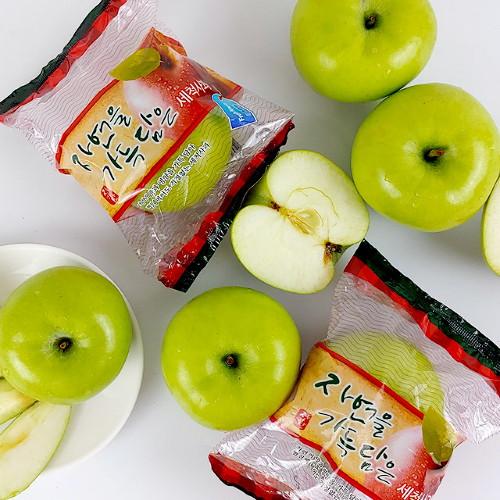 더조은푸드 경북 햇 아오리사과 흠과 세척 3kg 11-15과, 단품없음