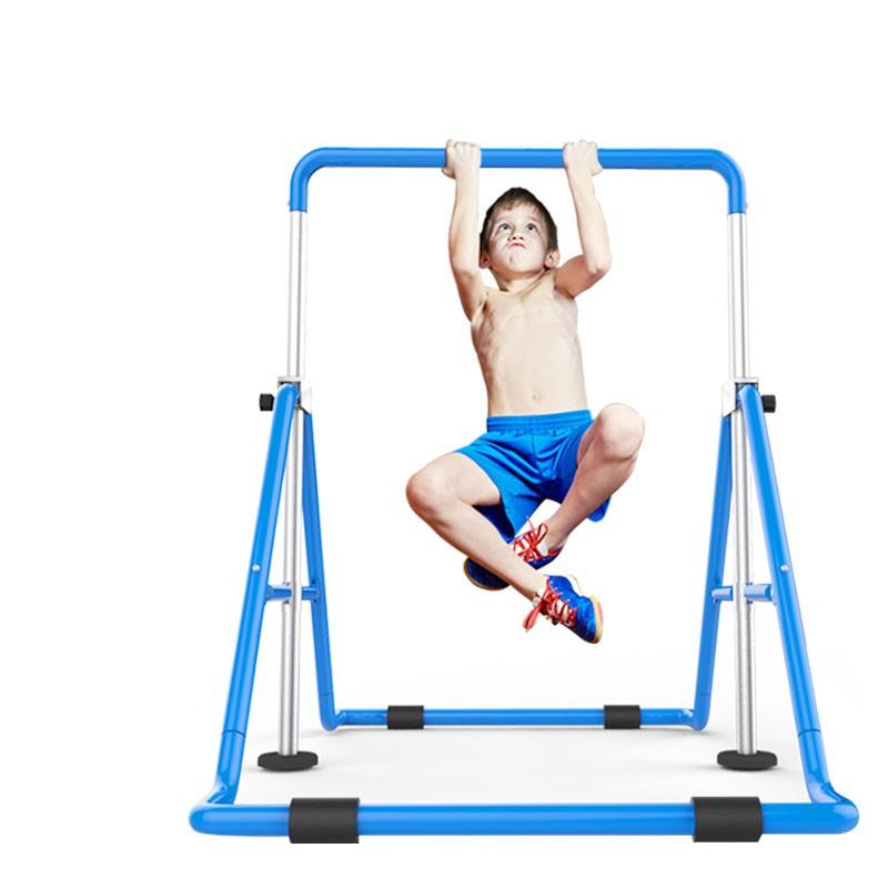 가정용철봉 철봉인상기 헬스기구 가정운동실 어린이 단조 가정용턱걸이 철봉, 블루