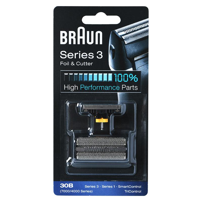 브라운 30B 전기면도기날+망 시리즈3 7000시리즈 브라운면도기날망