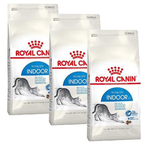 로얄캐닌 캣 인도어27 고양이 건식 사료 용량별, 1200g