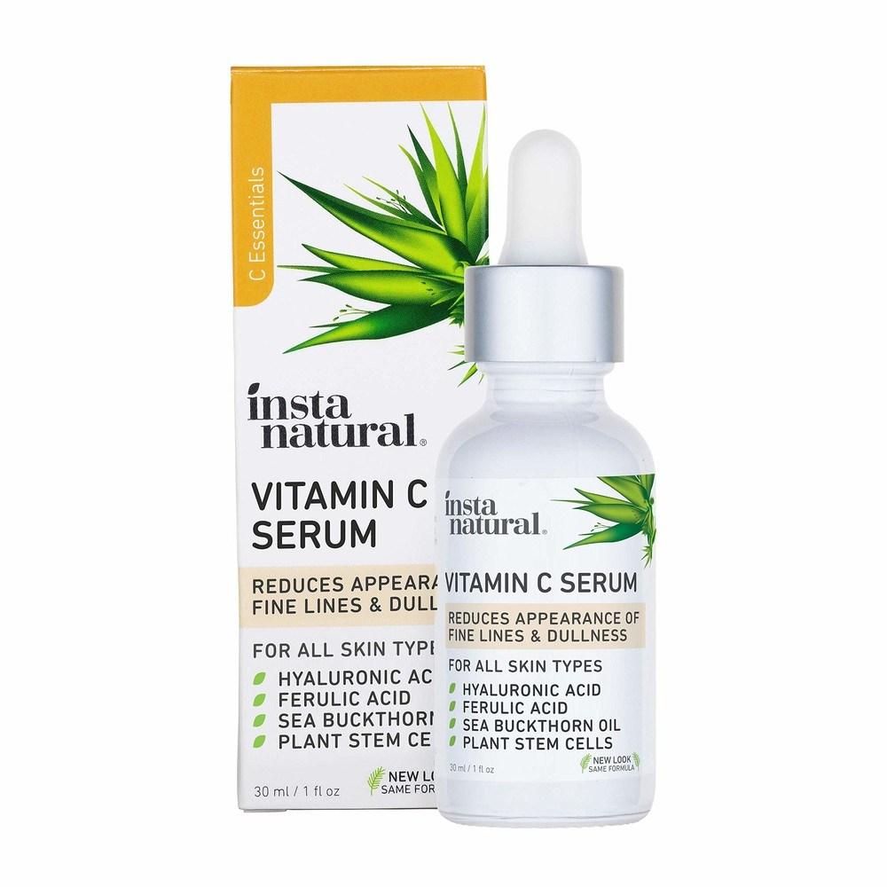 InstaNatural Vitamin C Serum 인스타 네츄럴 비타민 세럼 1oz(30ml), 1개