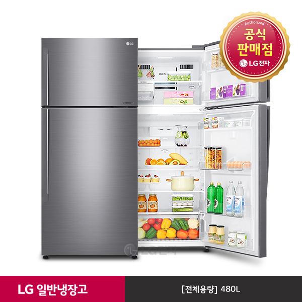 LG전자 [공식인증점][LG]일반냉장고 B477SM, 단일상품