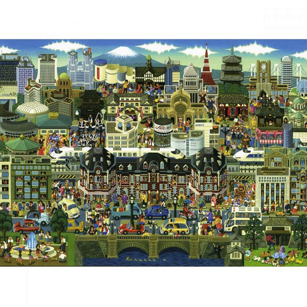 레브 500조각 일러스트퍼즐 도쿄 직소퍼즐 해당상품 1
