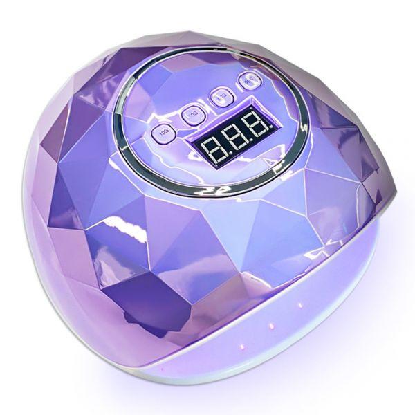 110W 젤네일 램프 굽는젤기계 LED 레진아트램프 화이트 핑크 퍼플 고출력 빠른건조 네일샵 전문가용, F6그레이프 퍼플, 단일사이즈