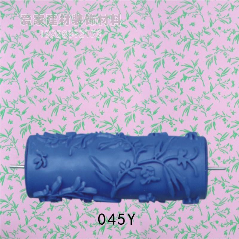 롤러 5inch고무 프린팅 드럼 페인트용솔 몰드 벽지 칠액체 규조토 예술 페인트솔