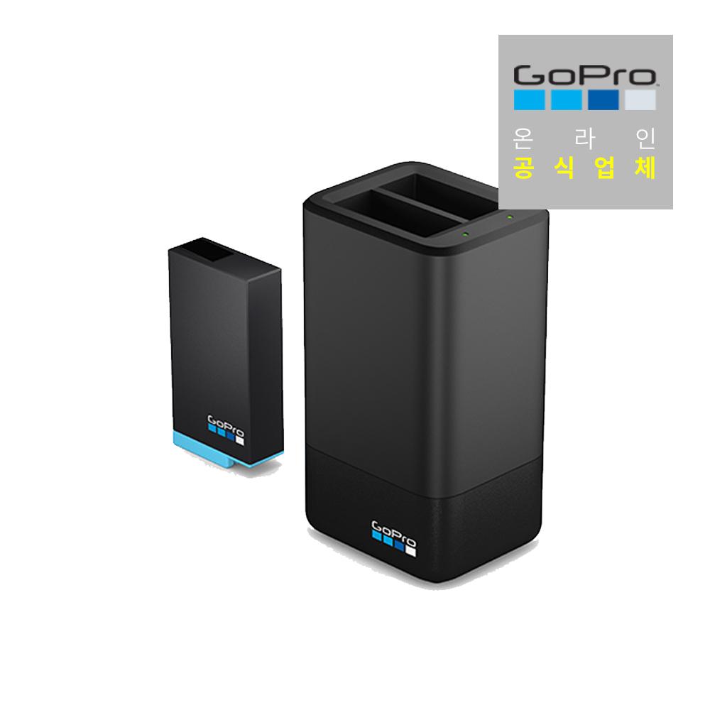 [고프로] GO208 /MAX Dual Battery Charger + Battery, 단품