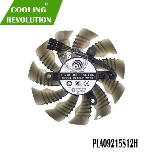 [해외] 87mm T129215SU PLA09215S12H 4Pin 42mm Cooler Fan For Gigabyte GeForce GTX 960 GTX 950 R9 390 38, 상세내용표시