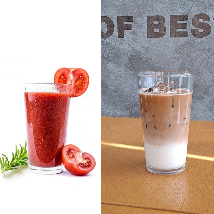 업소용 트라이탄 친환경 물컵 음료수 주스 카페용 투명 안깨지는 스타벅스컵, TT타입, 13온스
