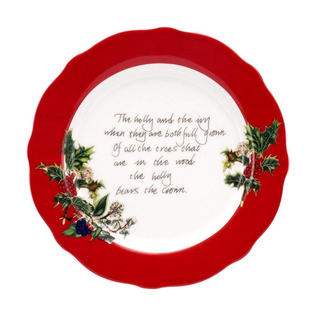포트메리온 Red Border Accent Plate, 상품상세참조
