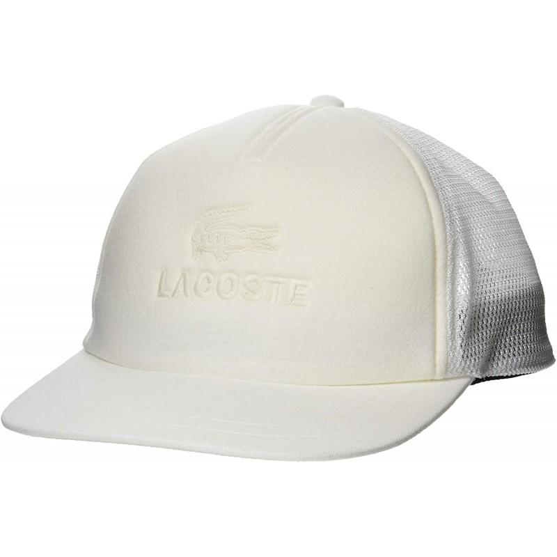 [라코스테] 모자 [공식] 악어 로고 자수 메쉬 캡 미색 EU 000 (FREE 사이즈)