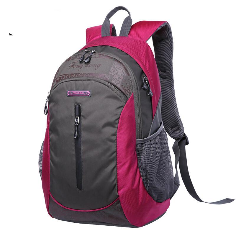 여행 가방 가방 가방 여 대 용량 숄 더 백 팩 남 캐 주 얼 아웃 도 어 워 터 방수 가 볍 고 가 벼 운 등산 봉오리 [작은 사이즈]