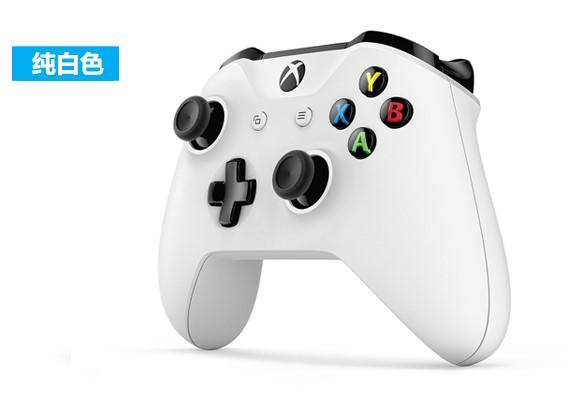 게임패드 마이크로소프트 XboxOneS손잡이 신상 컴퓨터 게임컨트롤러 블루투스 손잡이 엘리트 xboxone손잡이, 1개, T06-XBOX oneS 화이트 봉지포장