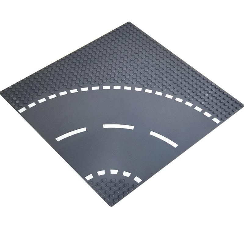 토이다락방 레고 클래식 도로판 32*32칸 (25.6*25.6cm) 레고호환블록, 레고도로판/곡선형